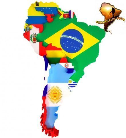 Sudamérica es un continente en auge económico,tiene maravillas naturales y es una próxima potencia ¿Vivirías allí?