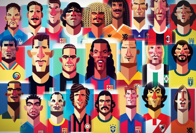 7875 - ¿Cómo estaría formado tu 11 ideal de la historia del fútbol?