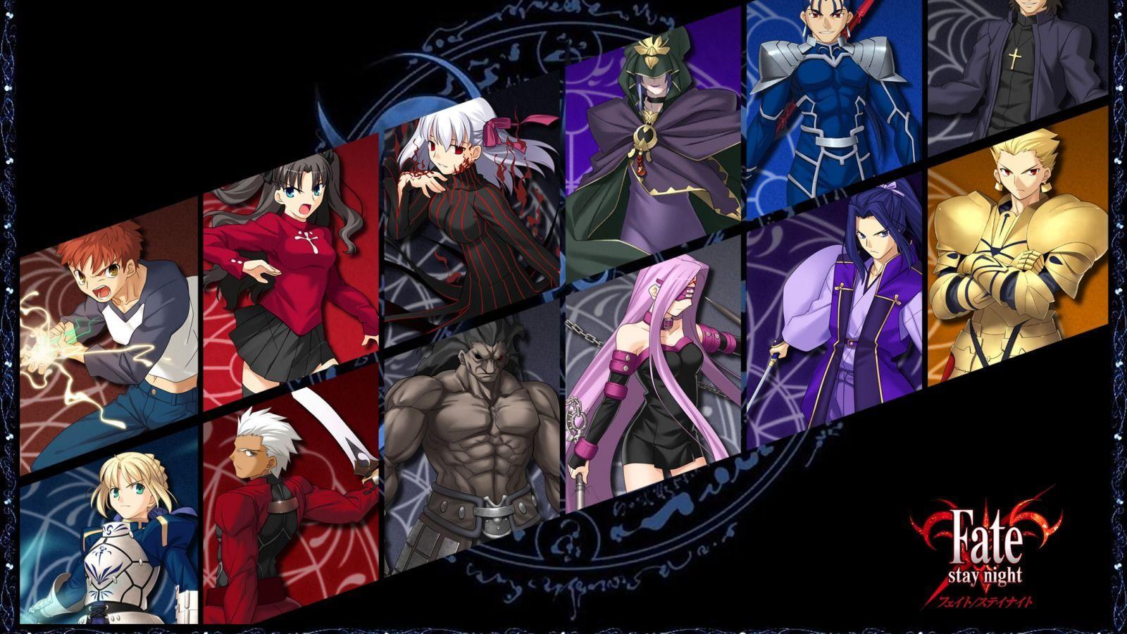 7932 - ¿Puedes reconocer a todos estos Servants de la saga Fate?