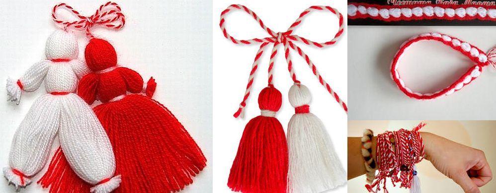 En Bulgaria es una tradición llevar estos adornos. ¿Durante qué mes se llevan?