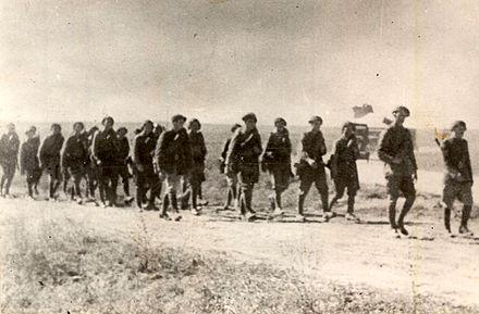 ¿Después de los alemanes, que país envió más soldados al frente oriental durante la Operación Barbarroja?