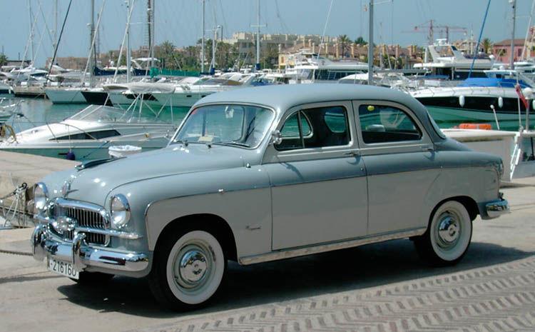 ¿Cuál fue el primer modelo fabricado por SEAT?