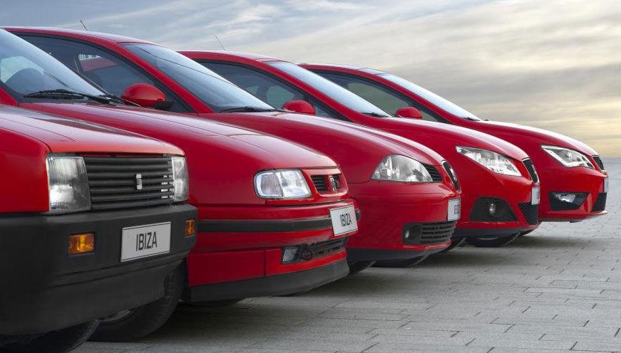 Uno de los modelos más conocidos de Seat, es el Ibiza, ¿cuántas generaciones han sacado hasta la fecha?
