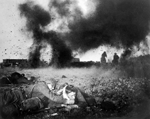 ¿Cuál fue la primera derrota alemana en el frente oriental?