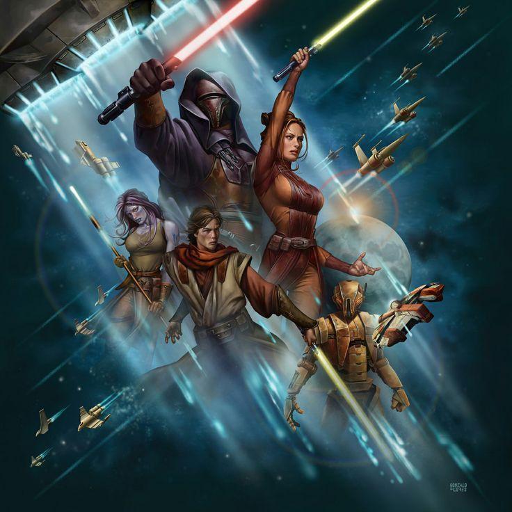 8008 - ¿Cuánto sabes del Universo Expandido de Star Wars (Antigua República)? Parte 1