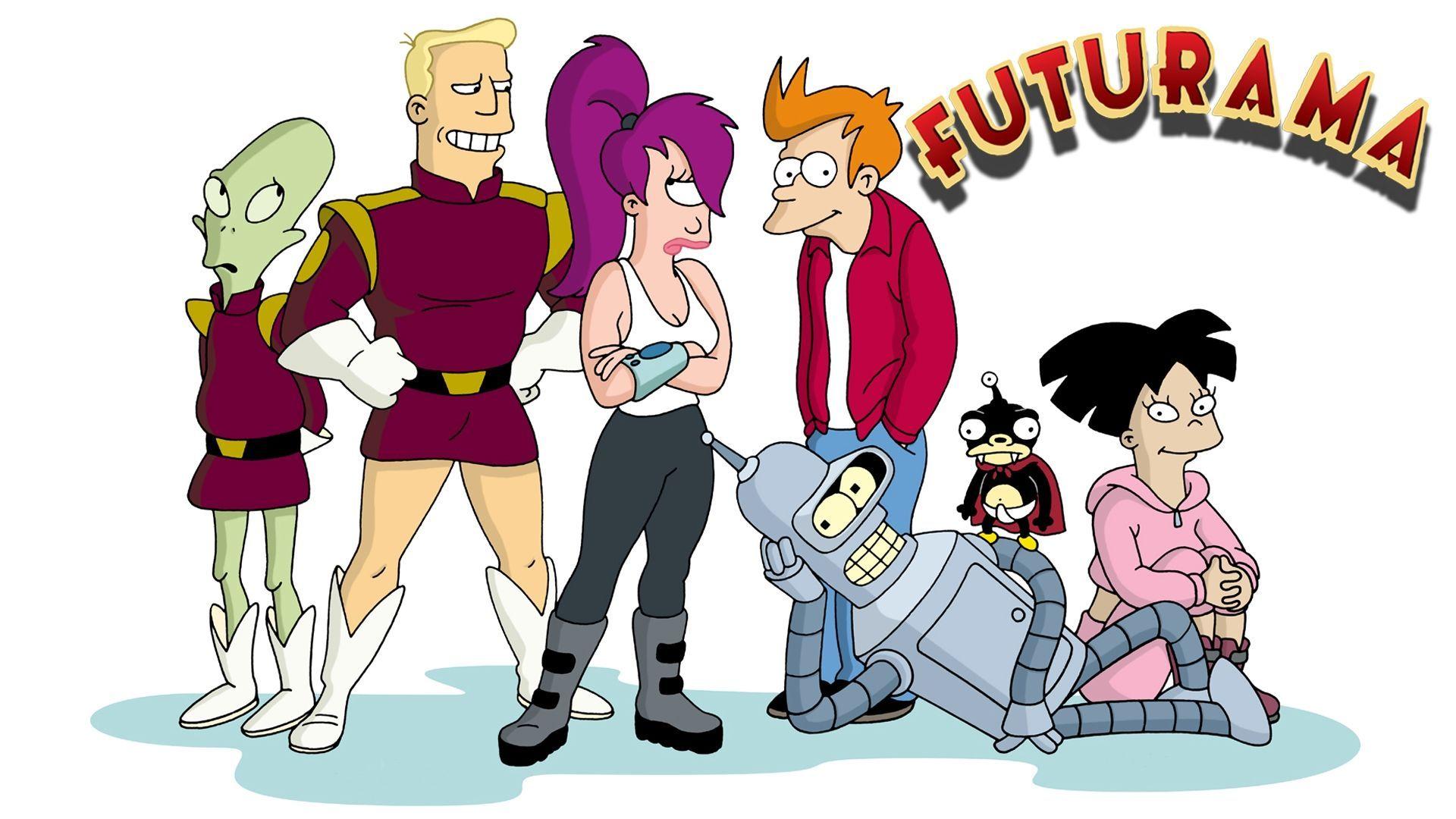 7988 - ¿Qué personaje de FUTURAMA describe mejor tu personalidad?