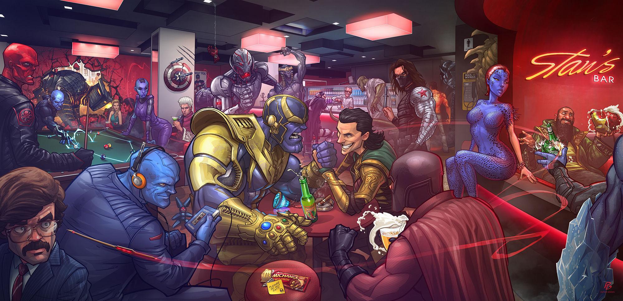 8017 - Actores villanos del Universo Marvel