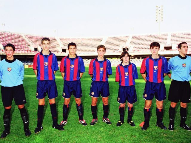 Llega a Barcelona el año 2000. ¿Quién fue su primer entrenador en el club azulgrana?