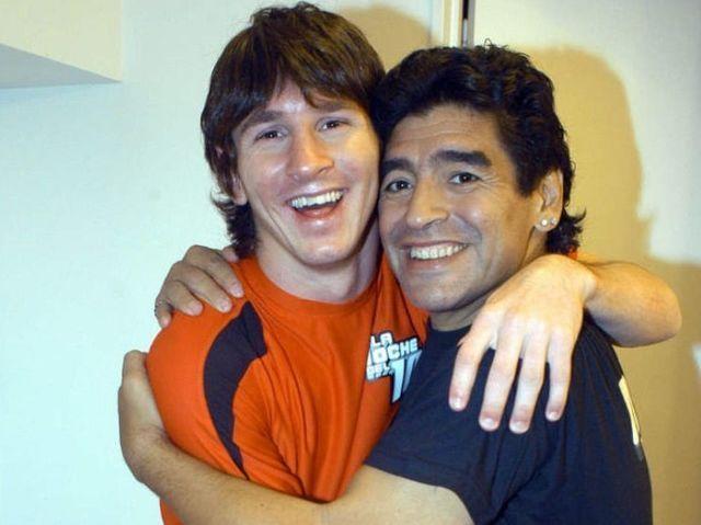 ¿Con quién hizo pareja de 'fut-tennis' en el programa 'La noche del 10' que presentaba Diego Armando Maradona?