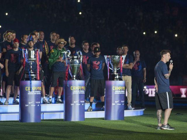 Ha ganado su segundo triplete. ¿Cuantos títulos suma ya con el FC Barcelona?