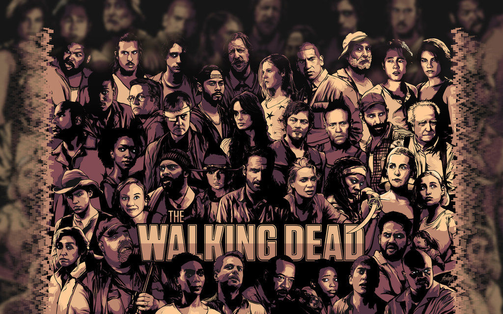 8103 - Personajes de la serie The Walking Dead [Nivel difícil]