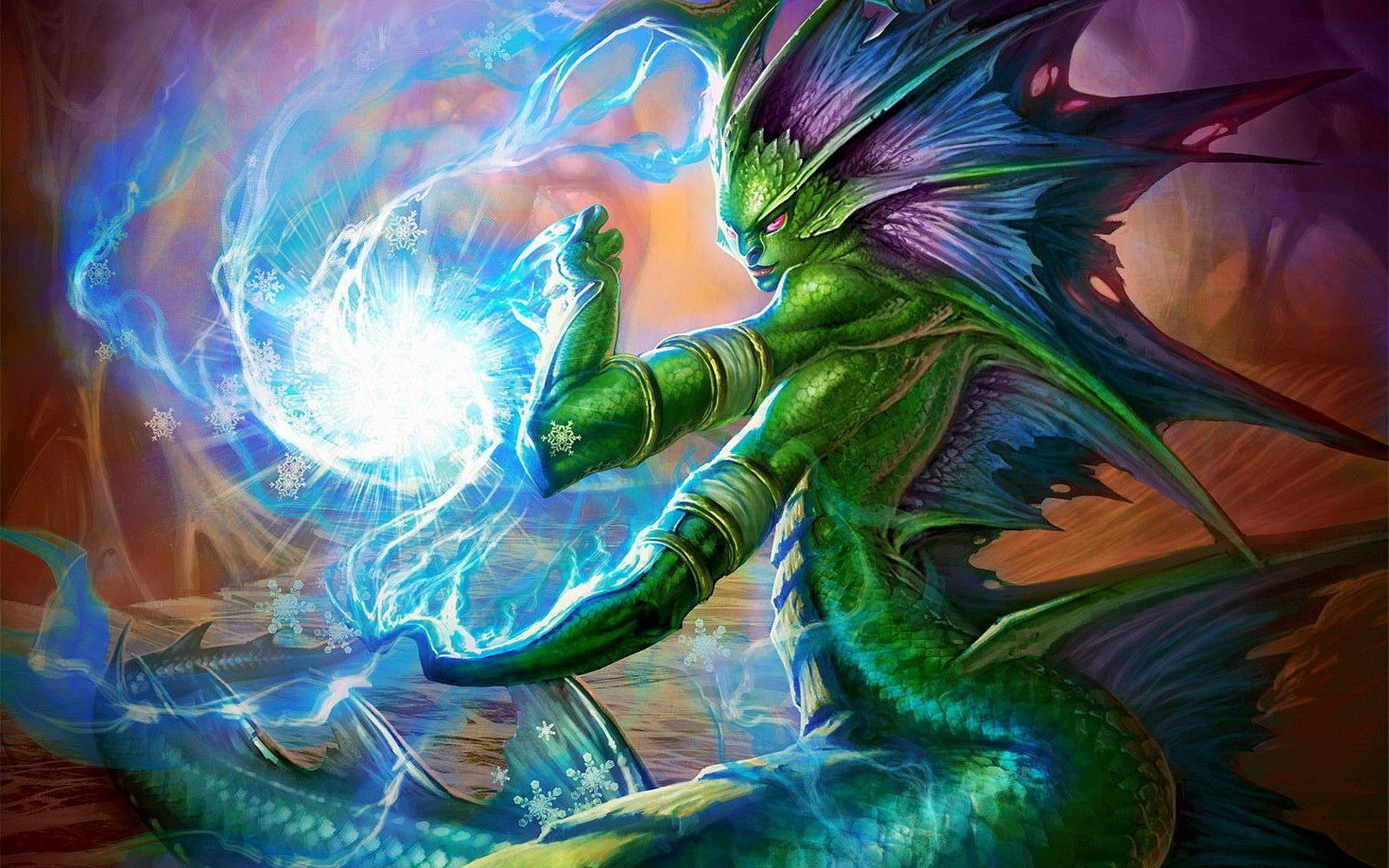 Los naga consiguen apoderarse del control de las aguas del mundo al raptar a un Señor Elemental que los combatía. ¿A quién?