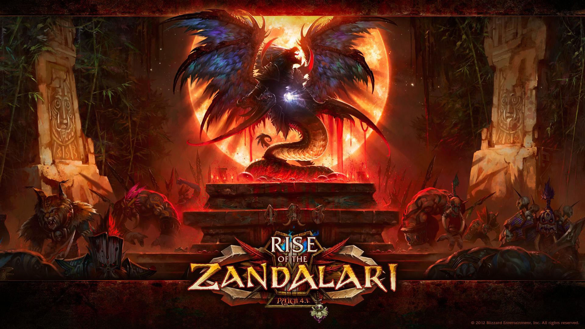De repente los Zandalari se alzan y atacan a la Horda y a la Alianza. ¿Qué dos zonas deberán asediar los campeones?