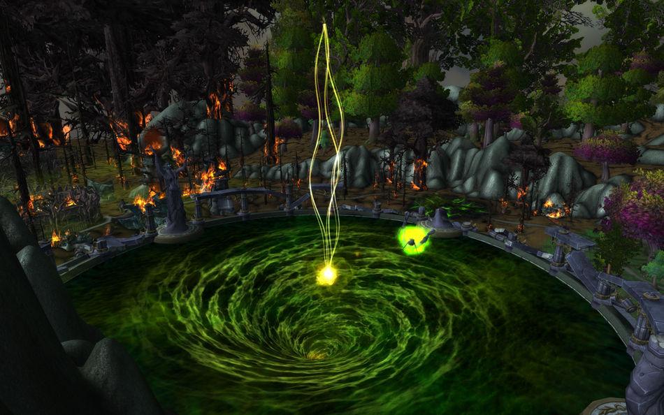 En el Pozo de la Eternidad los campeones vuelven al día en el que el actual Azeroth comenzó. ¿Qué aliado les ayuda en la lucha?