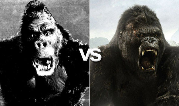 King Kong (1933) VS. King Kong (2005)