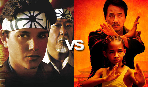 Karate Kid (1984) VS. Karate Kid (2010)
