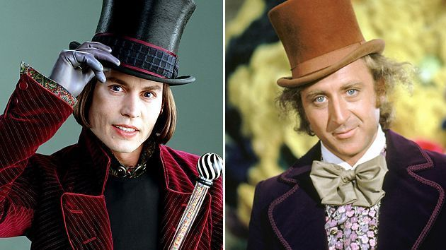 Willy Wonka y la fábrica de chocolate (1972) VS. Charlie y la fábrica de chocolate (2005)