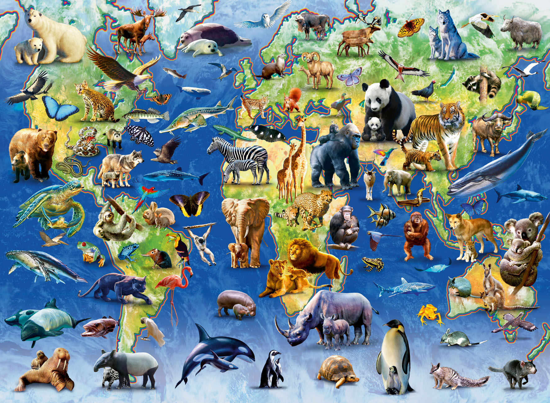 8170 - ¿Sabes cuál es el animal nacional de los países?