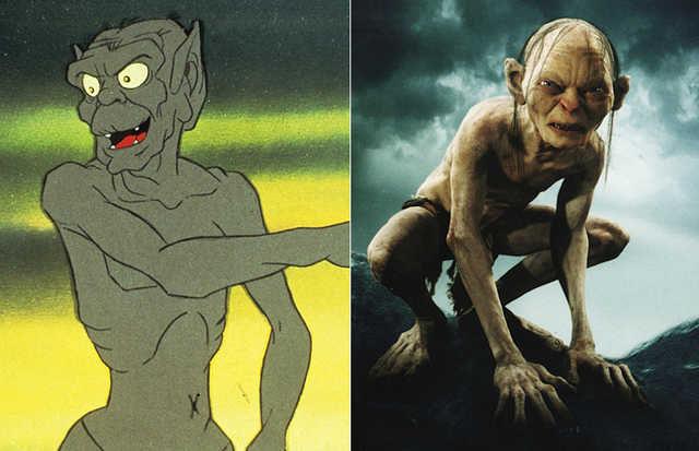 El Señor de los Anillos (1978) VS. El Señor de los Anillos (2001-2003)