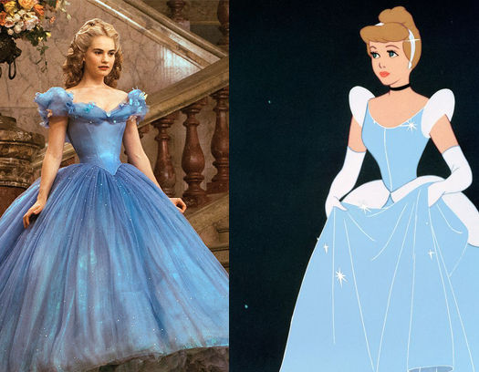 Cenicienta (1950) VS. Cenicienta (2015)