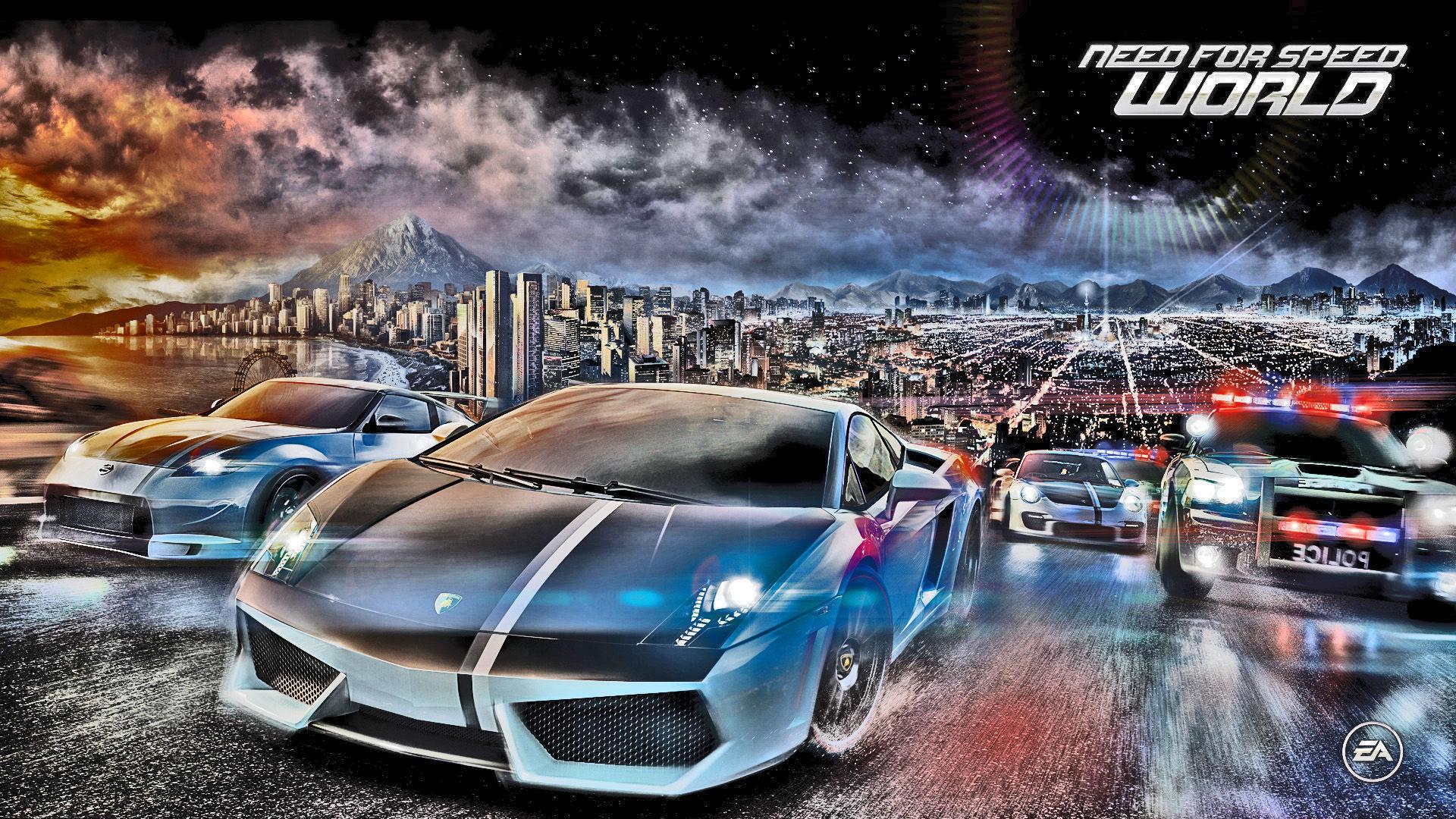 ¿En qué año se lanzó la primera versión on-line de Need For Speed?
