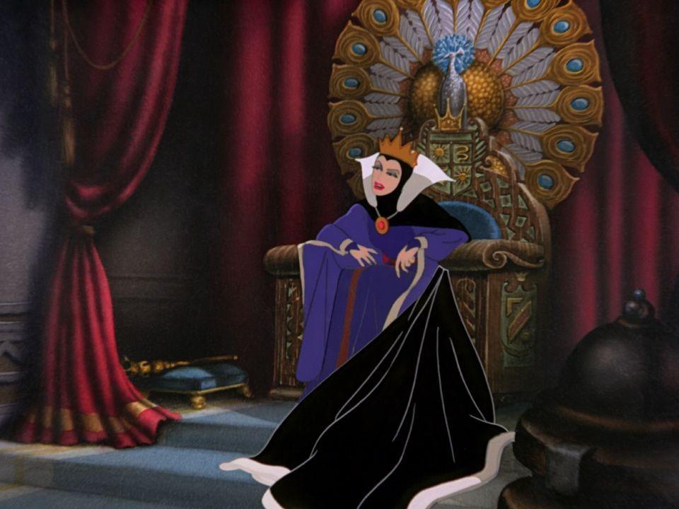 ¿Cuál es el nombre de la reina de Blancanieves?