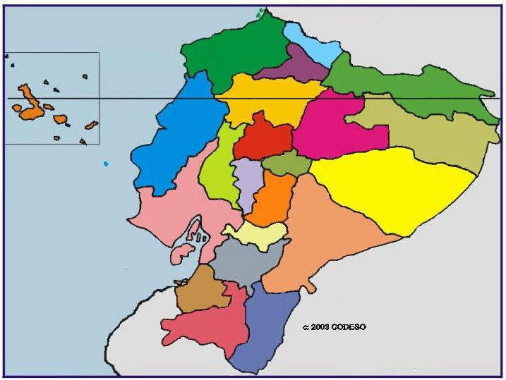 ¿Cuántas provincias tiene el Ecuador?