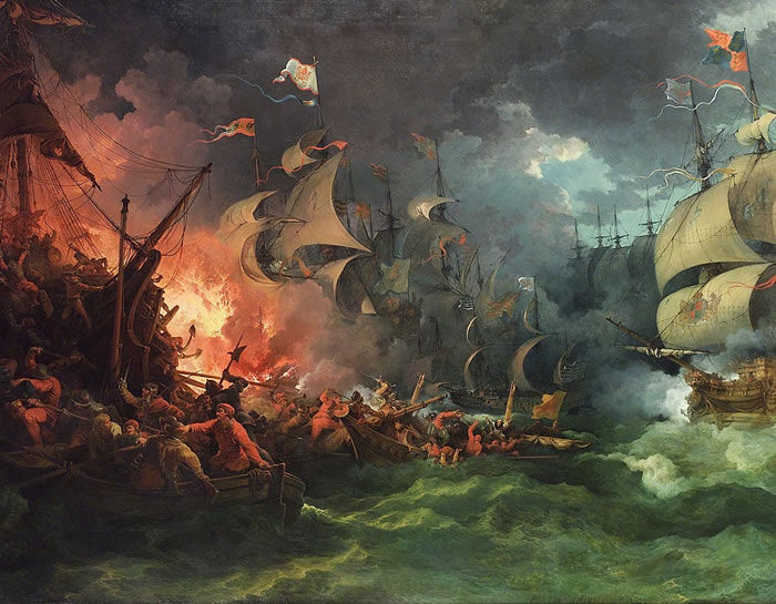 5998 - ¿Cuánto sabes sobre batallas navales?