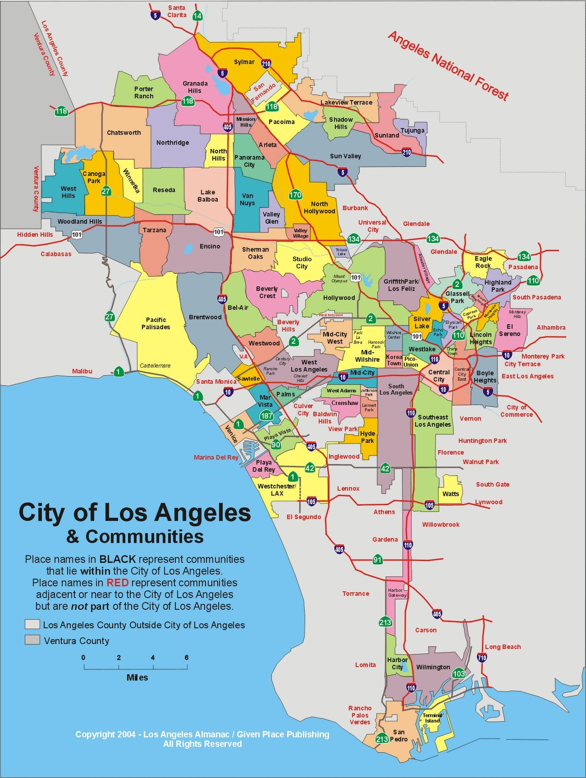 El distrito de LA donde discurre la serie se llama Farmington pero es ficticio, ¿En que divisón real está basado?
