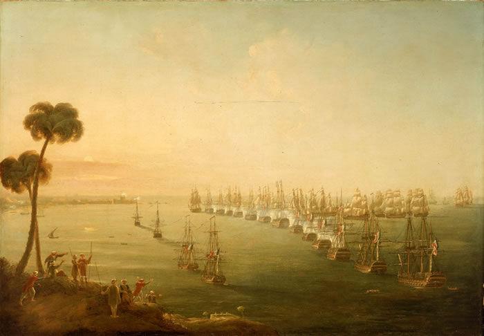 ¿Qué importante batalla se llevó a cabo en la Bahía de Abu Qir en 1798?