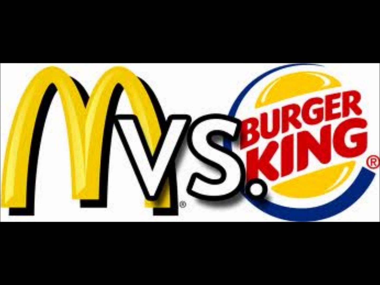 ¿Burger King o McDonald's?