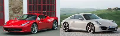 ¿Ferrari o Porsche?