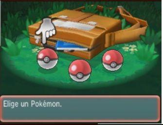 ¿Entre qué Pokémon iniciales puedes escoger?