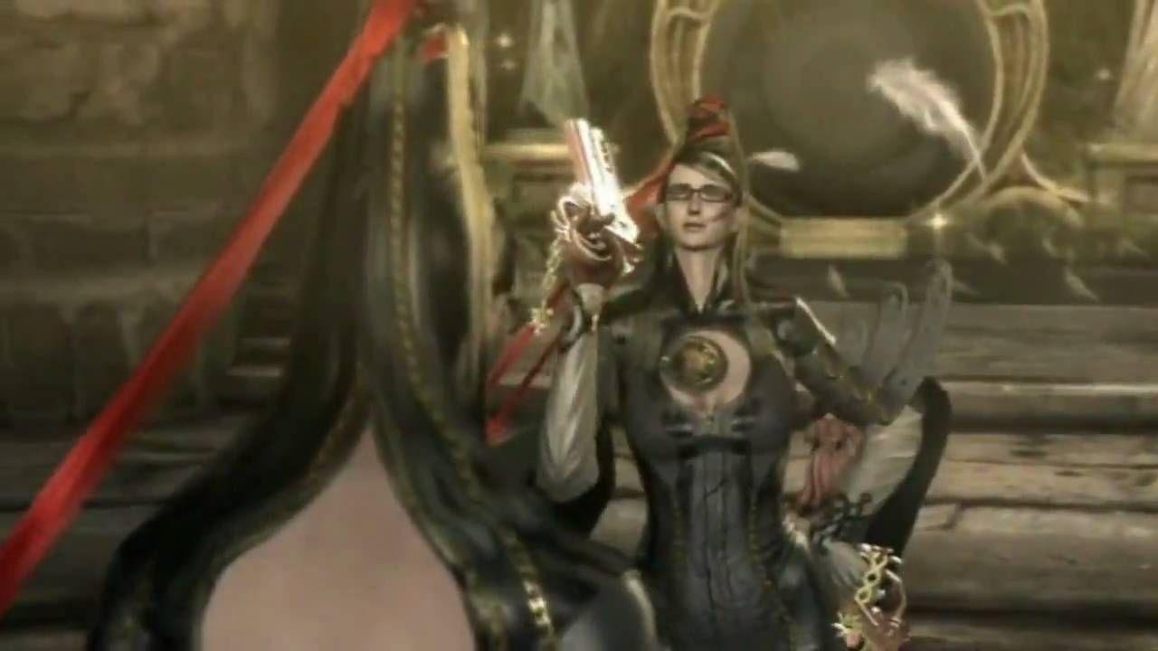 ¿Qué ángel se hace pasar por Bayonetta en esta escena?