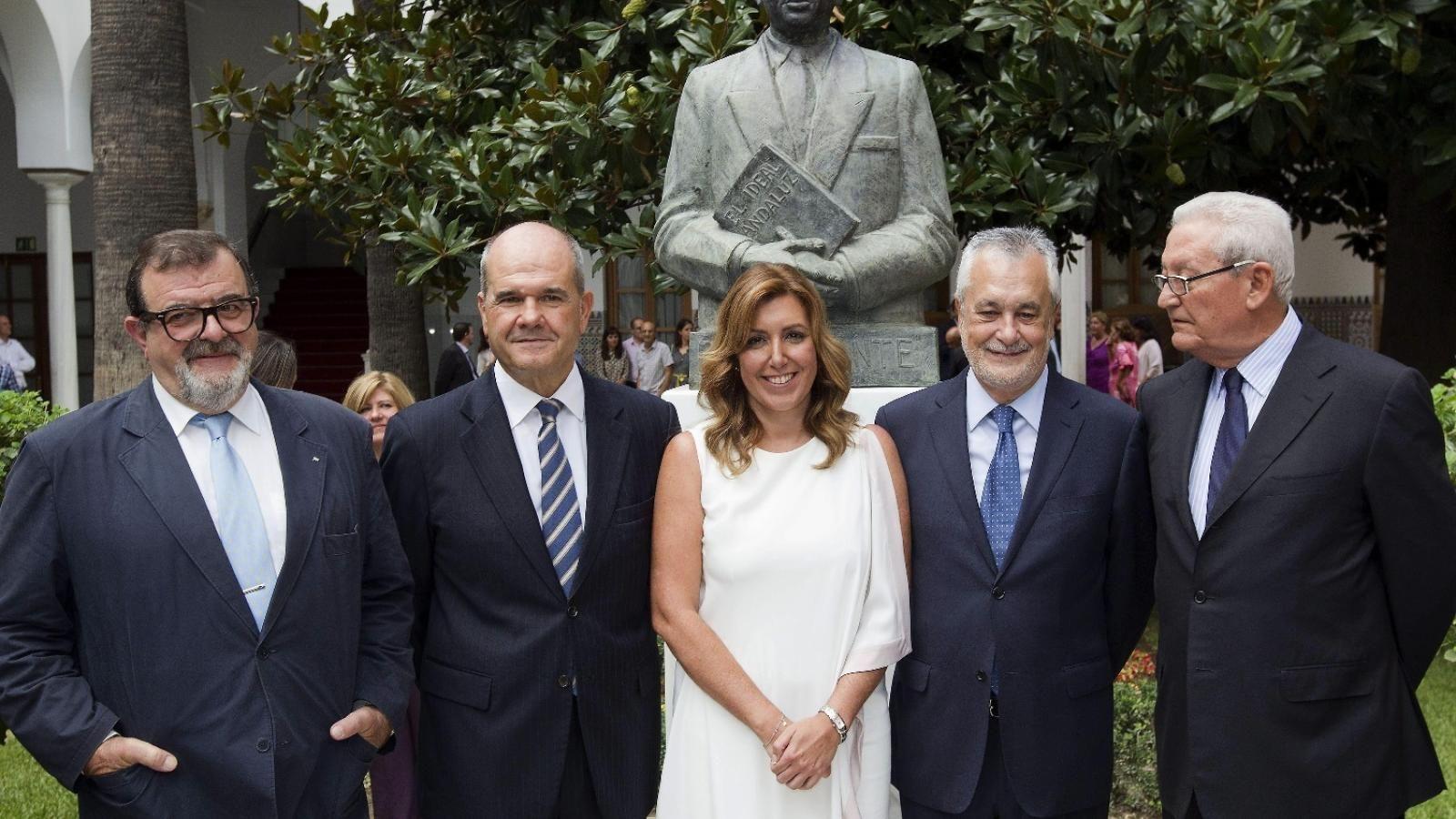 ¿Desde que año hasta que año fue Manuel Chaves González presidente de la Junta de Andalucía?