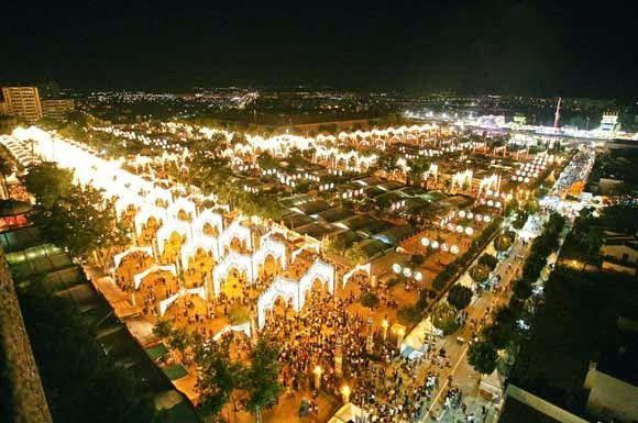 ¿Cuál de estas fiestas andaluzas no se celebra en dicha ciudad de Andalucía?
