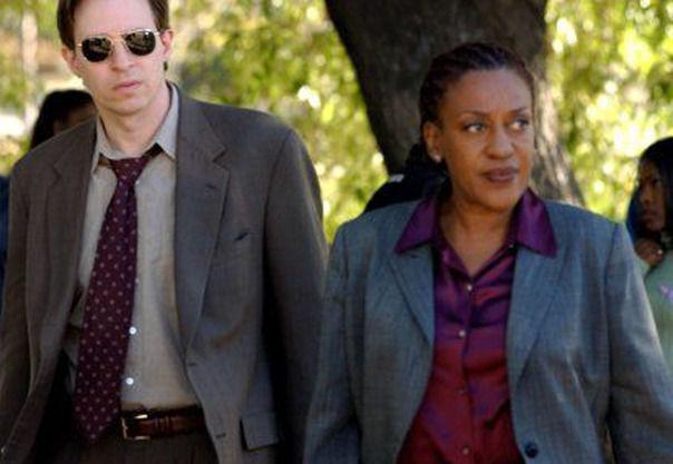 ¿Cómo se llaman la pareja principal de dectectives de homicídios?