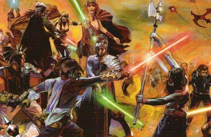 ¿Quiénes fueron los principales líderes Siths en las Nuevas Guerras Sith?