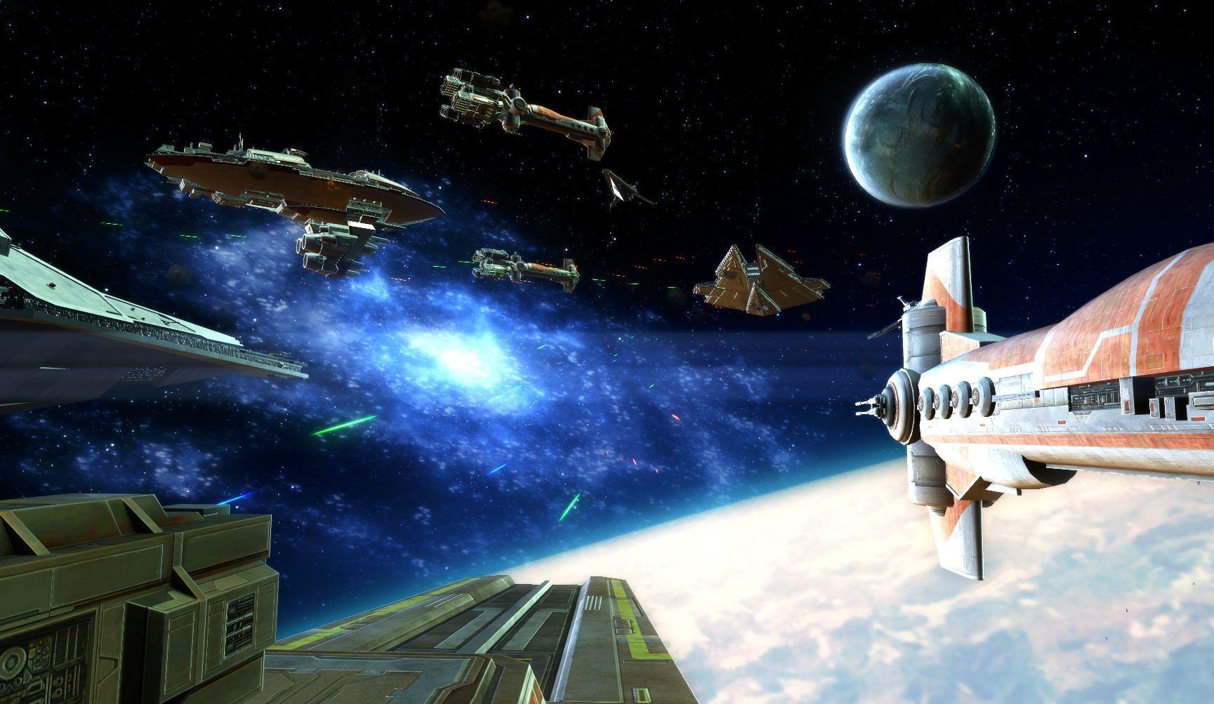 ¿Qué facciones se enfrentaron en la (Segunda) Guerra Galáctica?