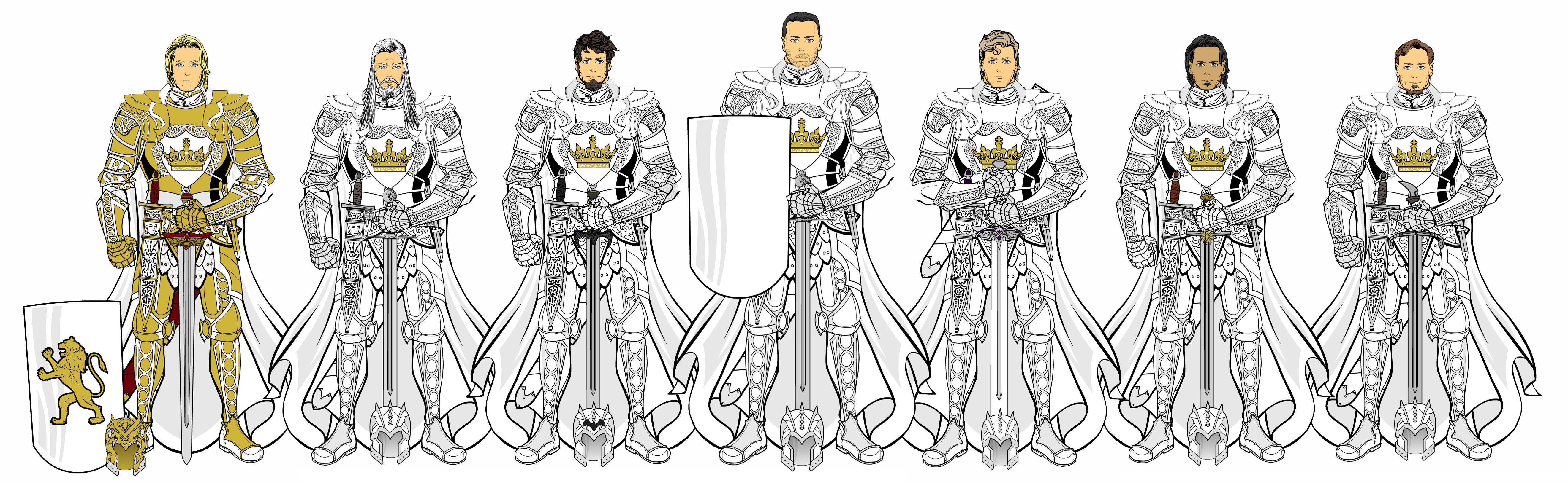 ¿Cuál de estos caballeros no es o ha sido un hermano de la Guardia Real?