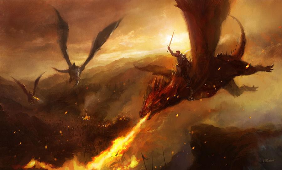 ¿Qué representan las tres cabezas del dragón?