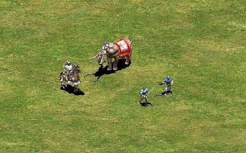 Los Elefantes persas, las Catafractas bizantinas y toda la infantería eslava tienen una característica en común, ¿cúal?