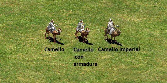 ¿Qué única civilización puede evolucionar el Camello con armadura al Camello Imperial?