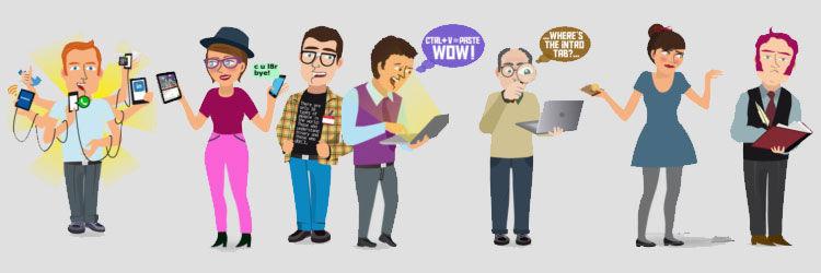 9605 - Vamos a conocer a los usuarios de Viralízalo... ¿En qué grupo estás tu?