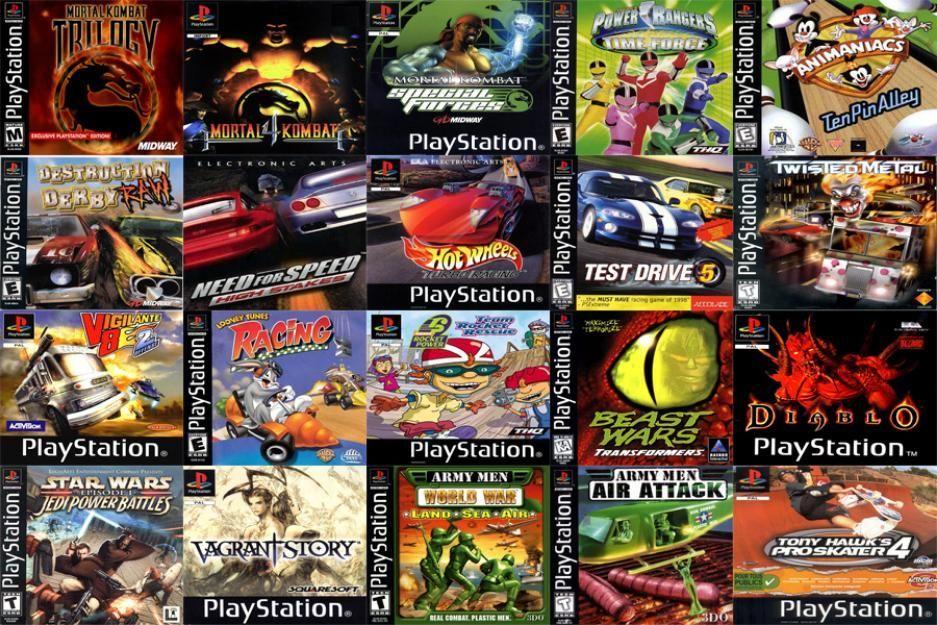 9701 - ¿Cuánto recuerdas de estos juegos de PS1?
