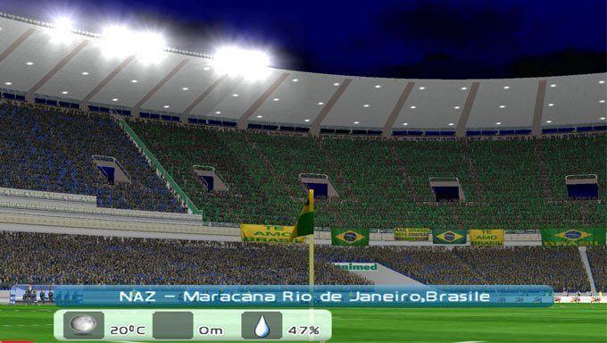 ¿Qué estadio de estos NO estaba en el PES 2006?