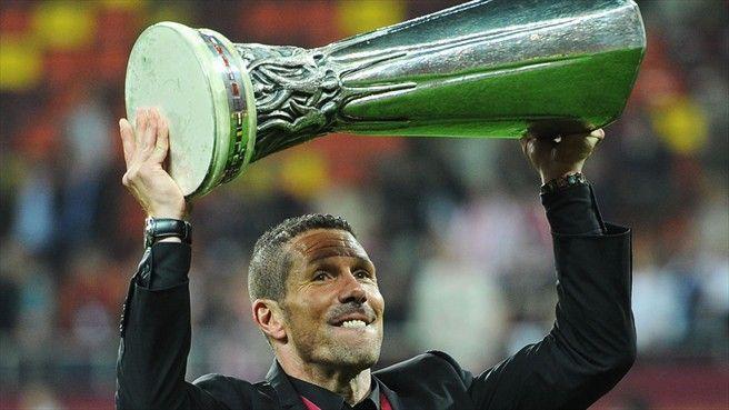 ¿Cuántos partidos no ganó el Atleti del Cholo cuando ganó la Europa League en 2012