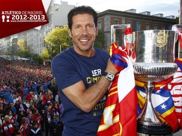 ¿Contra quién y por cuánto ganó la final de la copa del Rey 2013 el Atleti del Cholo ?