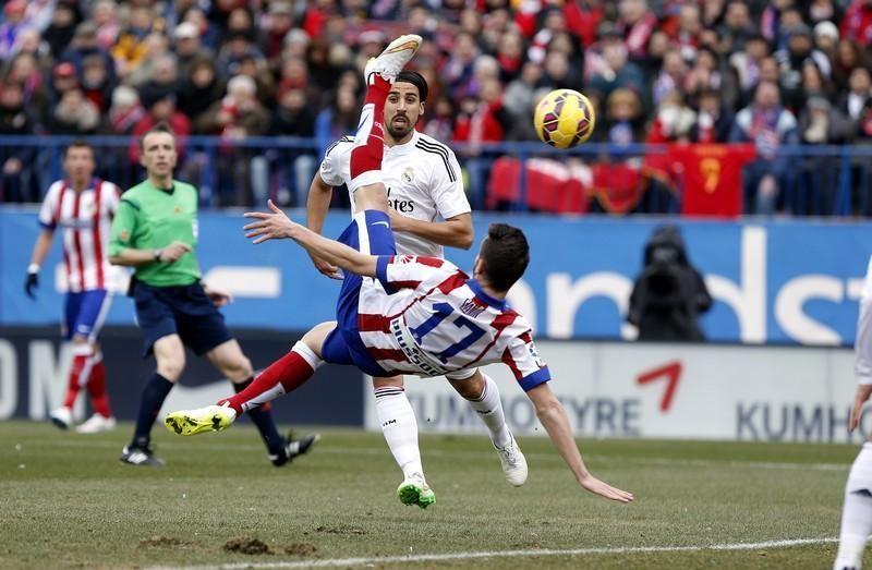 ¿Cuál fue el mejor resultado del Atleti ante el  Madrid en la 14/15?