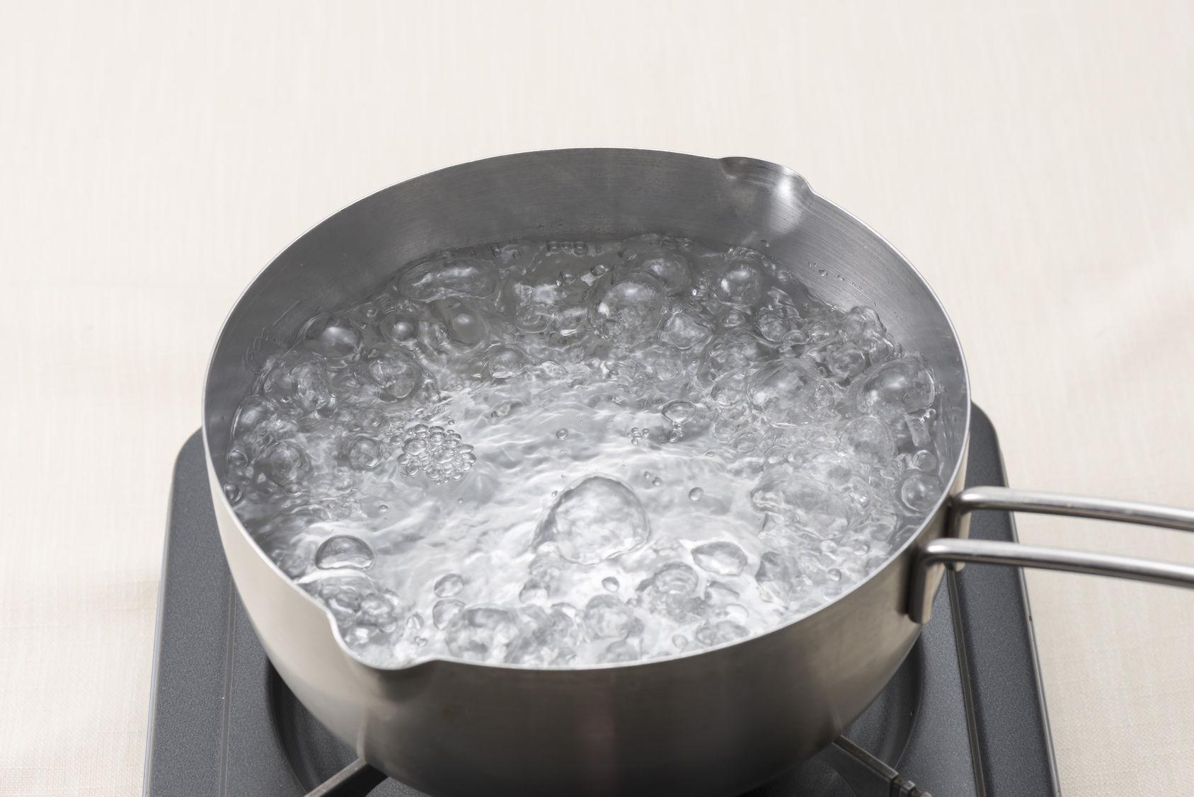 ¿A qué temperatura hierve agua?